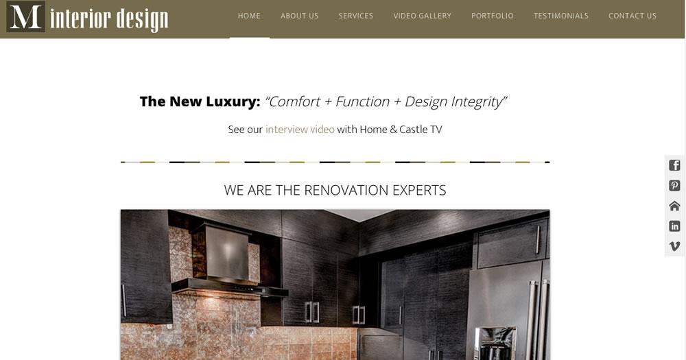 M Interior Design